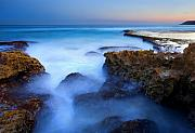 Tide Pools Prints - Tidal Bowl Boil Print by Mike  Dawson