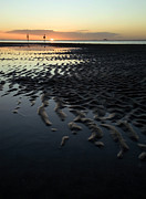 Tidal Pool Photos - Tidal Flats at Sunset by Matt Tilghman