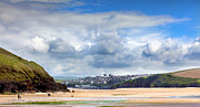 Simon Bratt Photography Prints - Tides out in Cornwall Print by Simon Bratt Photography