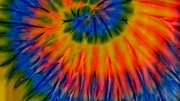 Shirt Digital Art Originals - Tie Dye by Dennis Dugan
