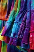 Tie Dyed  Print by Linda Mishler