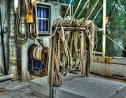 Alabama Photographer Prints - Tied up lines Print by Michael Thomas