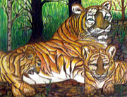 Brenda L Spencer - Tiger and Cubs