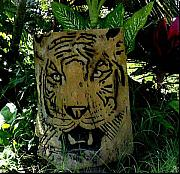 Animals Reliefs Originals - Tiger by Calixto Gonzalez