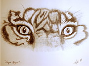 All - Tiger Eyes by Art Hill Studios