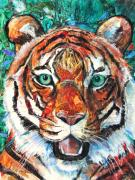 Patricia Mixed Media - Tiger III by Patricia Allingham Carlson