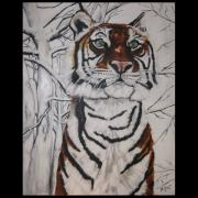 Jill Sluka - Tiger in the Snow