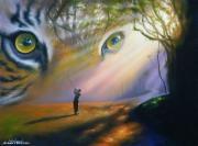 Jim Warren - Tiger in the Woods