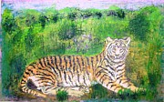 The Tiger Paintings - Tiger by Jitendra Gavali