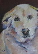 Soulful Eyes Paintings - Tiger Marie by Julie Dalton Gourgues