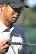 Tiger Woods Photos - Tiger Woods II by Chuck Kuhn