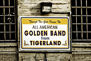 Marching Band Posters - Tigerland Band Poster by Scott Pellegrin