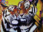 Mandy Thomas - Tigers Embrace