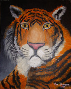Dated Originals - Tigers Glare by Ron Thompson