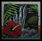 Featured Ceramics - Tile by Ashley Cameron