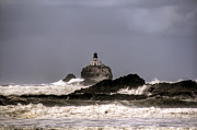 Tillamook Lighthouse Framed Prints - Tillamook Lighthouse Framed Print by Brad Granger