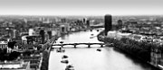 Tilt Shift Posters - Tilt shift London Poster by Sharon Lisa Clarke