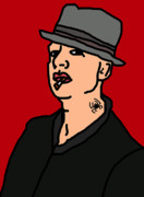 Punk Bass Prints - Tim Armstrong Print by Jera Sky