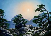 Timberline Framed Prints - Timberline Guardians Framed Print by Frank Wilson
