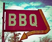 East Texas Posters - Time for BBQ Poster by Sonja Quintero