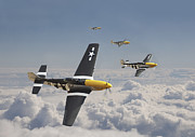 Classic Aircraft Prints - Time for Home Print by Pat Speirs