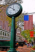 American City Prints - Time for Lunch Print by DJ Florek