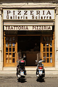 Trattoria Framed Prints - Time for pizza Framed Print by Ian Middleton