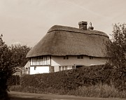 Thatched Cottage Prints - Time gone by Print by Sharon Lisa Clarke