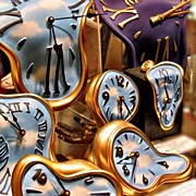 Surrealism Art - Time Is Melting Away #clocks #clocks by A Rey
