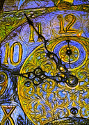 Clock Hands Prints - Time Machine Print by Judi Bagwell