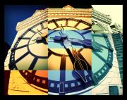 Tower Digital Art Originals - Time Pieces by Julius Reque