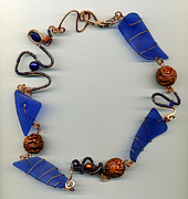 Beach Jewelry Originals - Time-space Continuum by Allie Hafez