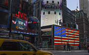Ed Rooney - Time Square Flag