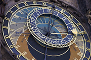 Astronomical Clock Framed Prints - Time  Temps Framed Print by Nicole  Cloutier Photographie Evolution Photography