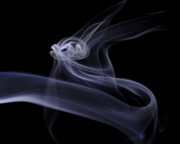 Smoke Art Prints - Time to Fly Print by Bryan Steffy