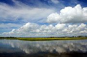 Cloud Reflections Photos - Time to Reflect by Benanne Stiens