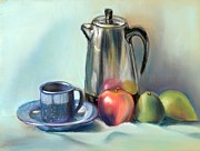 Food And Beverage Pastels - Time to Reflect by Rita Lackey