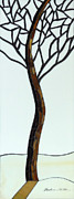 Branches Glass Art - Time to Rest by Barbara Benson Keith