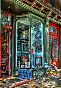 Store Front Art - Time To shop by Arnie Goldstein