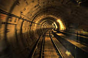 British Photo Originals - Time Tunnel by Evan Spellman
