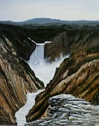 Scott Melby Originals - Timeless   Yellowstone Falls by Scott Melby