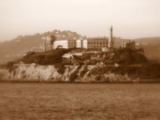 San Francisco Metal Prints - Timeless Alcatraz Metal Print by Carol Groenen