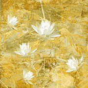 Abstract Floral Art Photos - Timeless Beauty photo collage by Ann Powell