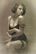 Vintage Photographs Prints - Timeless Print by Cris Jan  Lim