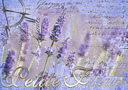 French Country Mixed Media Posters - Timeless Lavender Poster by Anahi DeCanio