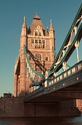 River View Prints - Timeless Tower Bridge Print by Jasna Buncic