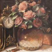 Antiques Paintings - Timeless Treasures by Diane Reeves