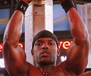 Athlete Photo Originals - Times Square 175 by Padamvir Singh