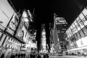 Landscapes Metal Prints - Times Square Dont Shine as Bright as You Metal Print by Ariane Moshayedi