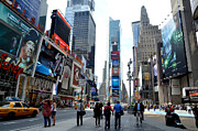 Citiscapes Photos - Times Square by Pravine Chester